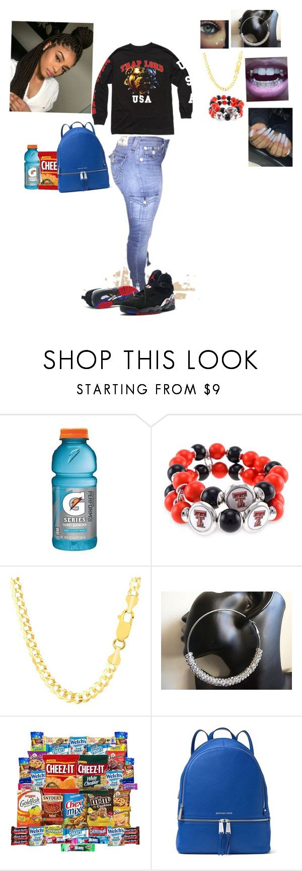 """Trap lord"" by laylakristion on Polyvore featuring Gatorade, True Religion and Accessory PLAYS"
