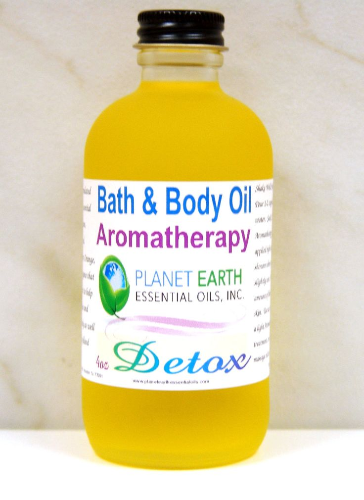 DETOX Aromatherapy Bath & Body Oil     2oz by planetearthoils, $20.00