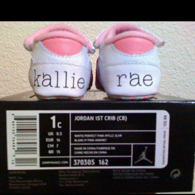 Kallie's first pair