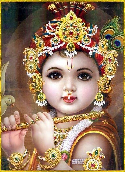 Baby Krishna | Vishnu | Pinterest | Babies, Baby krishna ...