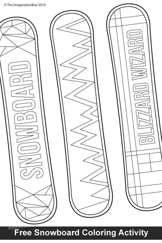 Barbie Snowboarder Coloring Page L Coloring Book Markers Videos