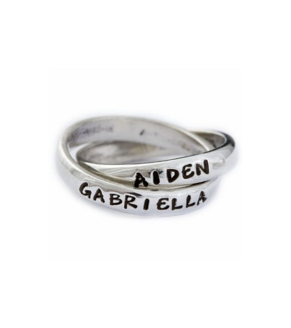 Need this! http://www.nelleandlizzy.com/Double_Ring_102.htm