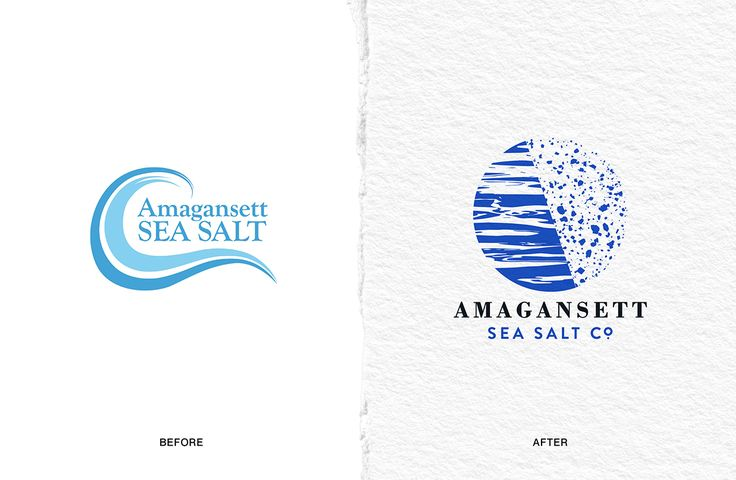 Amagansett is a Salt Brand With Deep Respect for the Sea — The Dieline | Packaging & Branding Design & Innovation News