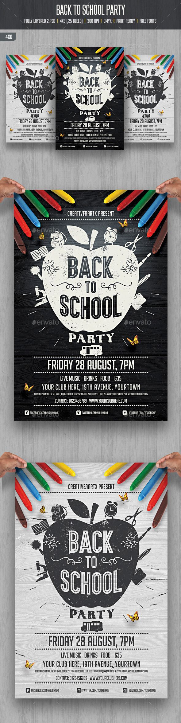 Back to School Party - Download…