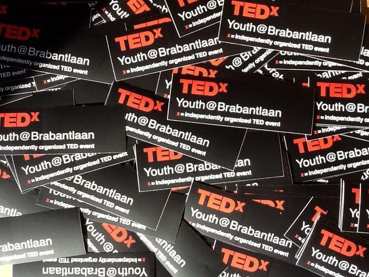 TEDx — TEDxYouth@Brabantlaan: The Netherlands' New Youth on the Block