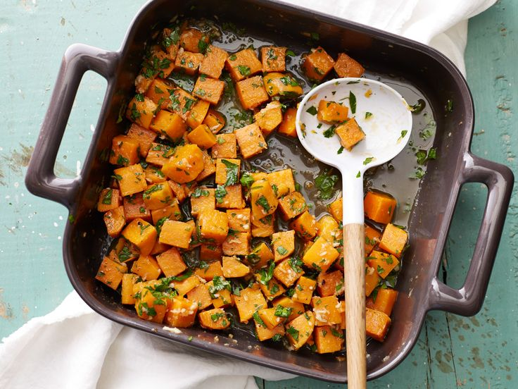 Sweet Potatoes with Maple-Horseradish Butter Recipe : Food Network Kitchen : Food Network - FoodNetwork.com