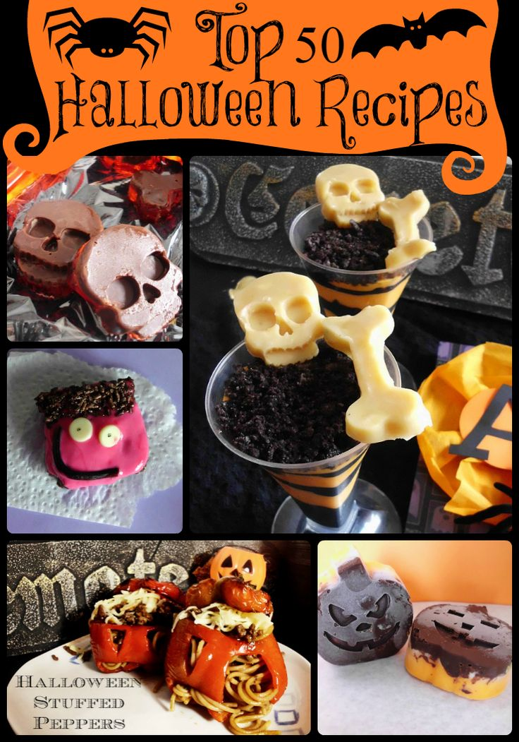 Round-Up of the Top 50 Halloween Recipes | Pink Recipe Box