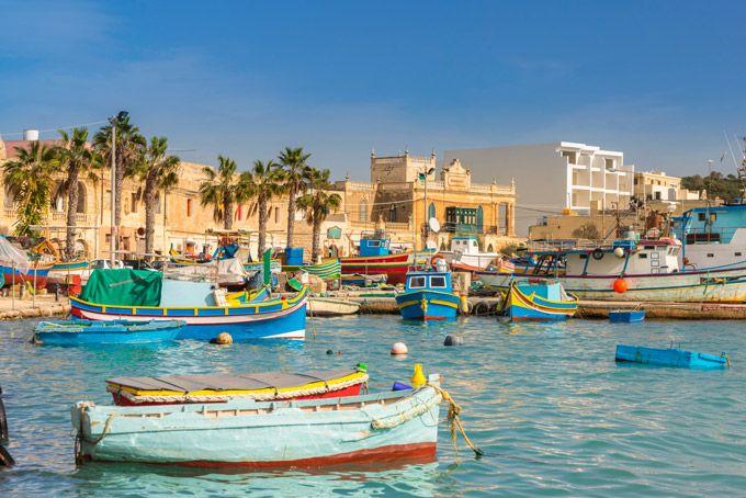 Marsaxlokk, Malte