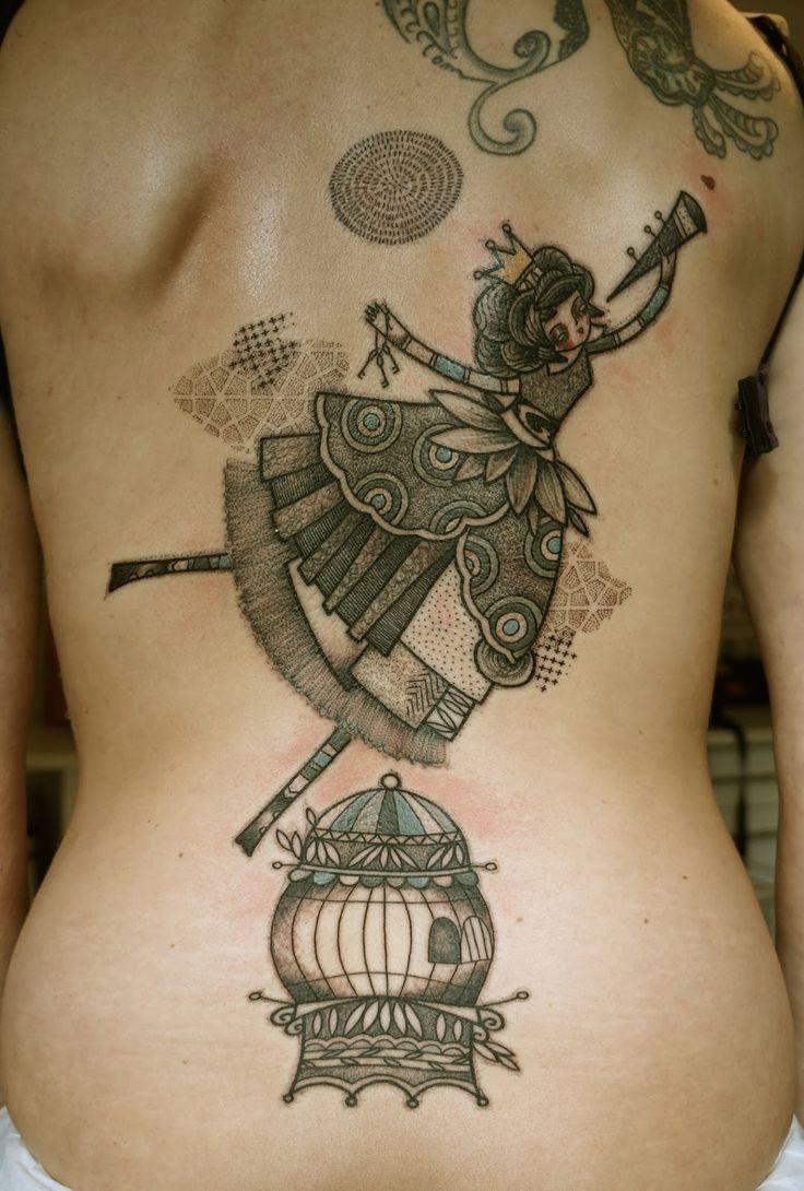 47 best tattoo noon tattoo artist images on pinterest for Avant garde tattoo