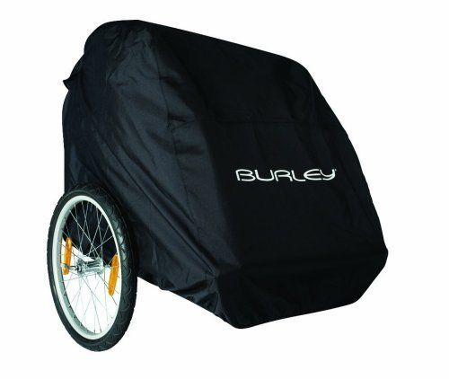 Burley Child/Pet Trailer Storage Cover by Burley Design. $75.00. Amazon.com                The Burley Design bicycle trailer storage cover helps protect your bike trailer from the elements. Designed to keep trailers nice and neat when not in use, this storage cover fits all Burley child trailers. Made in the U.S.A., the all-black cover features a Burley logo that goes over the front side of the trailer. About Burley Design Burley Design has been the leader in child b...