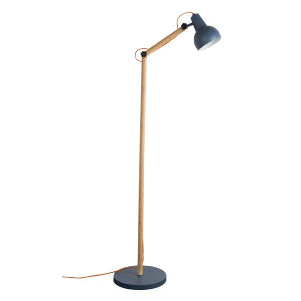 Stojací lampa Study Dark Grey | Bonami