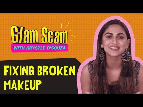Fixing Broken MakeUp with Krystle D'Souza | Glam Scam http://makeup-project.ru/2017/10/28/fixing-broken-makeup-with-krystle-dsouza-glam-scam/
