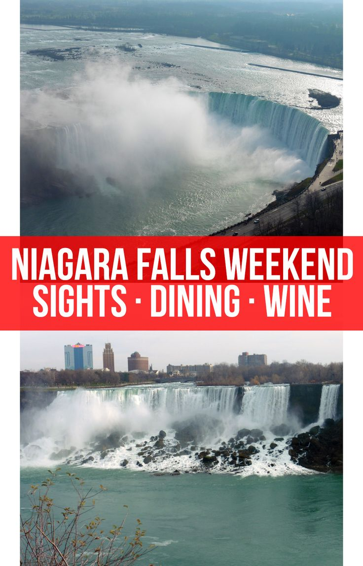 Highlights of a couples weekend in Niagara Falls, including the best sights, dining, the Skylon Tower, and ice wine.