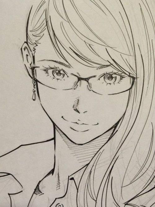 Anime Character Design Sketch : Best images about anime sketches and drawing on