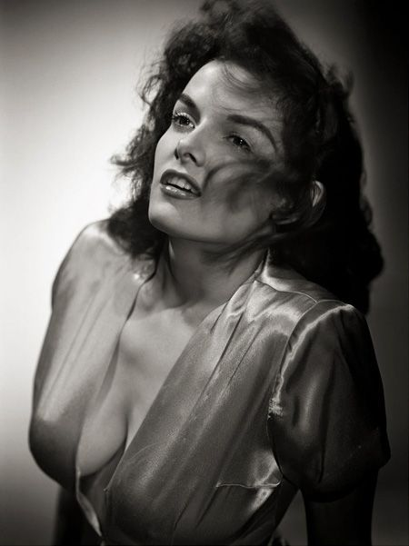 Jane Russell by George Hurrell via hurrellestatecollection.com