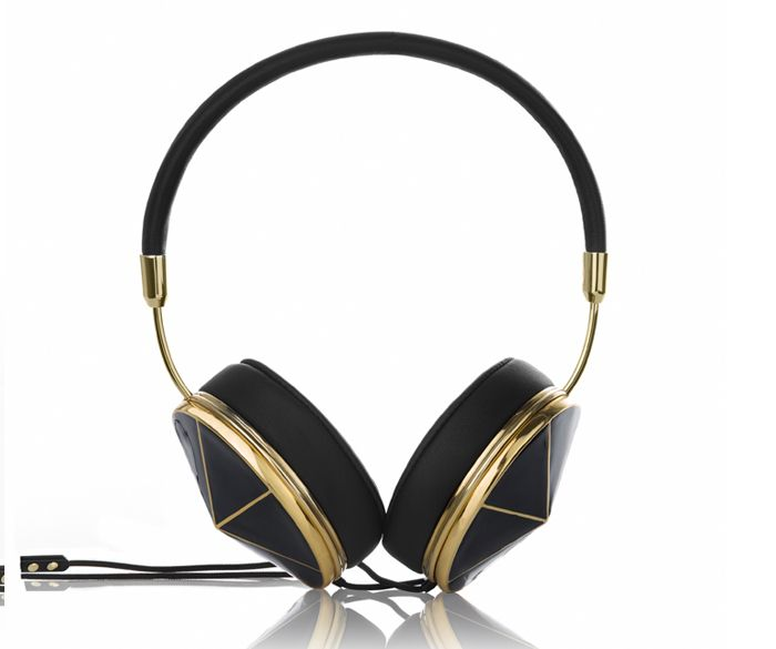 TAYLOR BLACK ENAMEL frends heaphones €220 --- how sexy are these?!