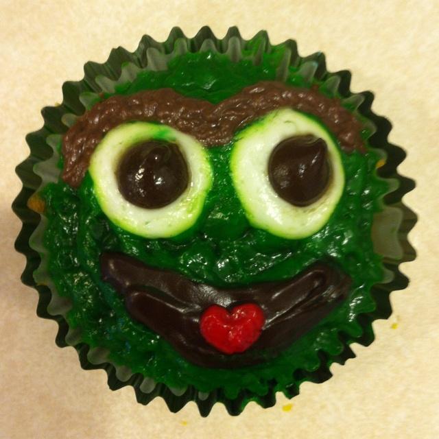 Grouchy cupcakes