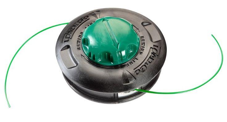Testina semiautomatica batti e vai con semplice sistema di ricarica del filo rapido e senza attrezzi
