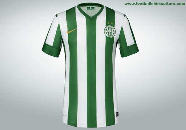 Ferencvaros 13/14 Nike Home Football Shirt