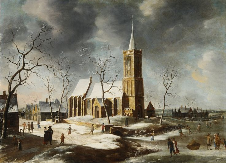 VIEW OF WOGNUM IN THE WINTER - Kunsthaus Lempertz