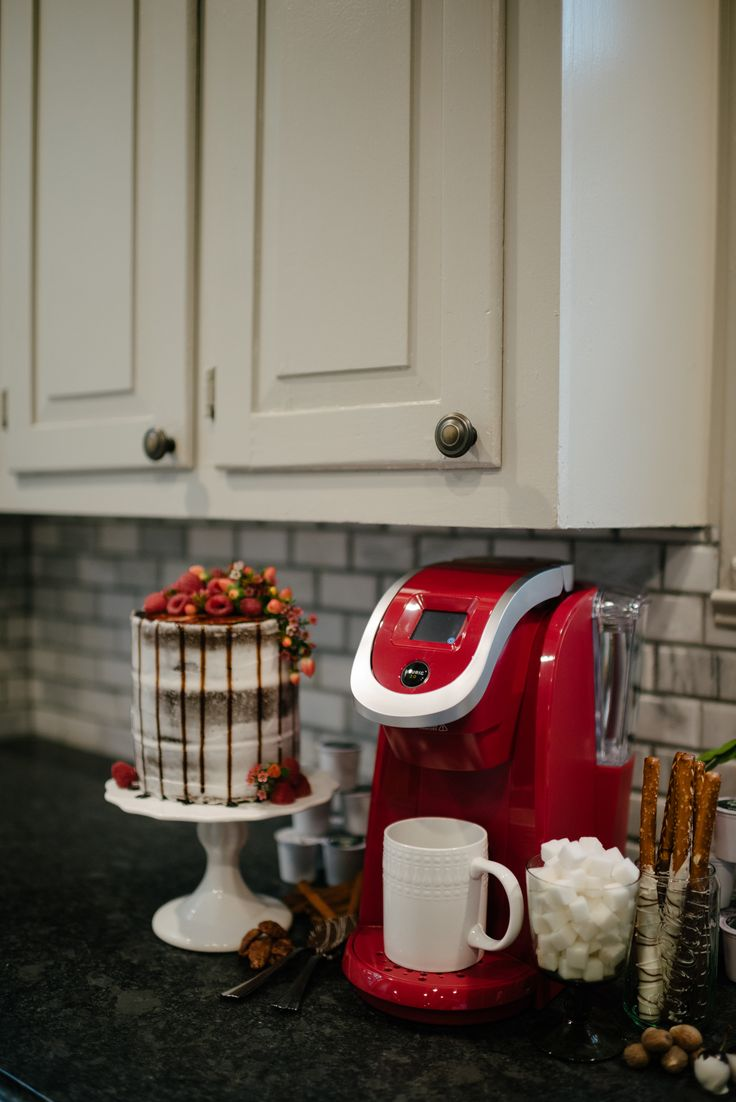 Your big day is brewing! Be sure to add a Keurig brewer to your registry.