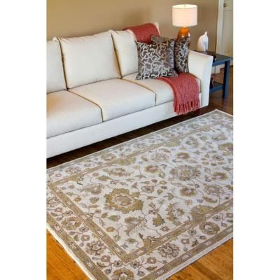 Artistic Weavers Gorham Beige Wool 10 Ft X 14 Ft Area Rug Gorham 1014 At Th