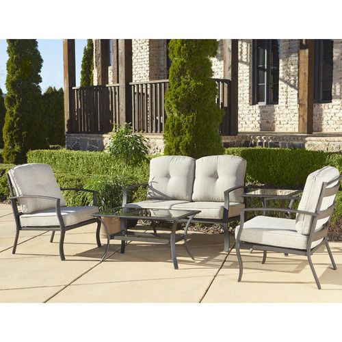 Found It At Wayfair   Pavilion 5 Piece Deep Seating Group With Cushion
