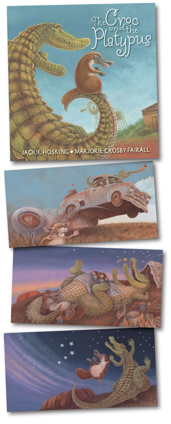 Croc-and-Platypus-images