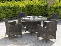 mesas para exterior coleccin ibiza redonda
