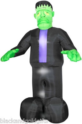 gemmy halloween airblown inflatable light up 12 foot frankenstein yard decor new - Www Gemmy Com Halloween