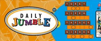Daily Jumble #WordGame | America's #1 puzzle game, Jumble Classic has been delighting word-puzzle enthusiasts for more than 60 years. With it's simple mechanics and brain-teasing anagrams, it is a hit with consumers in both print and online. Play is simple, just unscramble four words, then use their answers to decode the final clue. Come back each day to play a new puzzle. #WildTangent