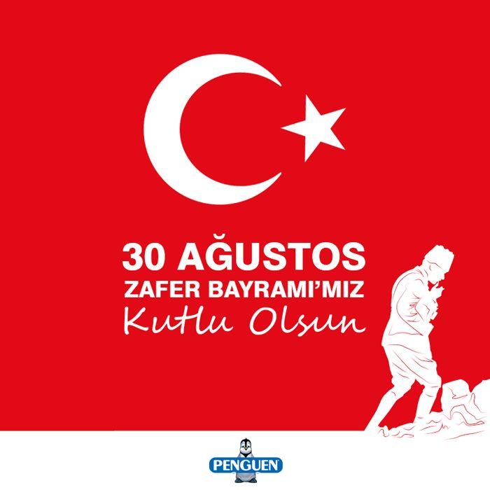 30 Ağustos Zafer Bayramı'mız Kutlu Olsun!   #30AğustosZaferBayramı