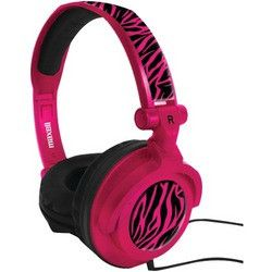 Maxell Amplified Heavy Bass Headphones (hot Pink) (pack of 1 Ea)