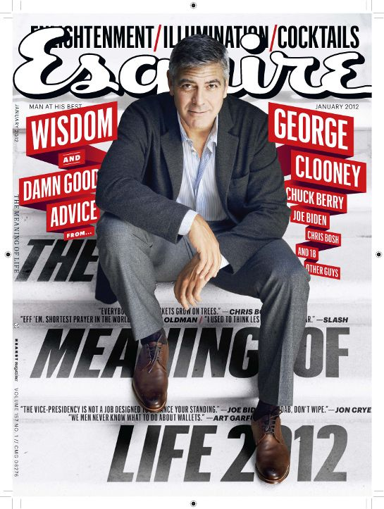 Esquire: Can you have a relationship with a magazine? And a relationship that has lasted for 30 years? Well, with Esquire I can answer yes. - Bill, USA