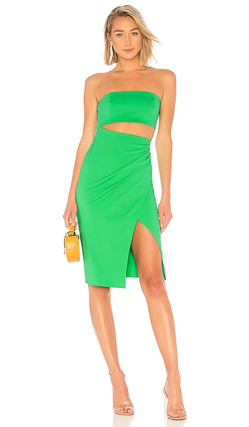 Nbd Int L Mini Dress In Kelly Green Revolve