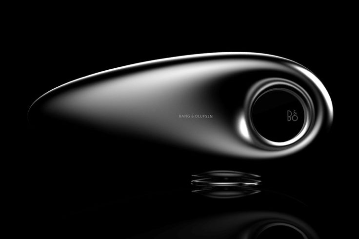 This Beosound Wireless Speaker concept looks like it's waiting to be cast in a SciFi movie, but no, it isn't a UFO. It's a pretty neat