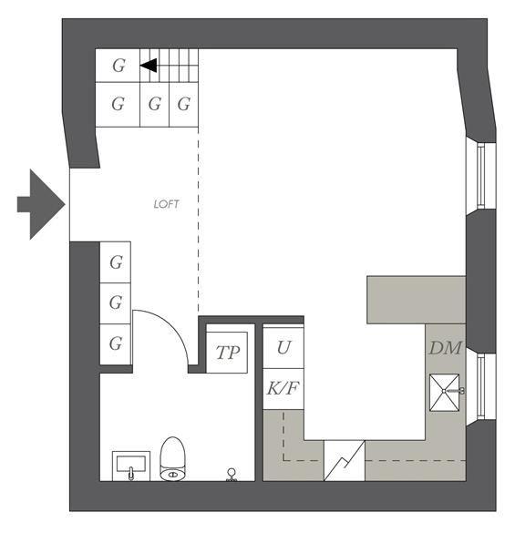 Como distribuir 32m2   Decorar tu casa es facilisimo.com