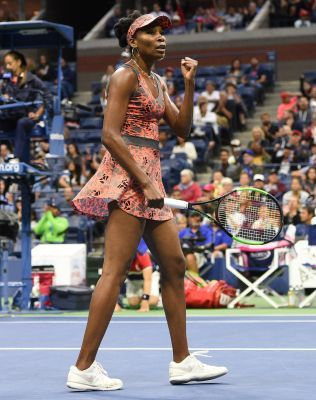 Two-time champion Venus Williams and Sloane Stephens won their fourth-round matches Sunday to advance to the quarterfinals, and Madison Keys, CoCo Vandeweghe and Jennifer Brady have a chance to reach the quarters Monday.  Williams defeated Carla Suarez Navarro, 6-3, 3-6, 6-1.