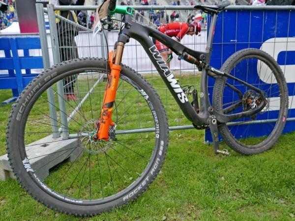 Pro Bike Checks Xc World Cup S Fastest 2nd Place Spitz S Wiawis Prototype Mountain Bike Plus Indergand S Focus O1e Bikerumor Mountain Biking Pro Bike Bike