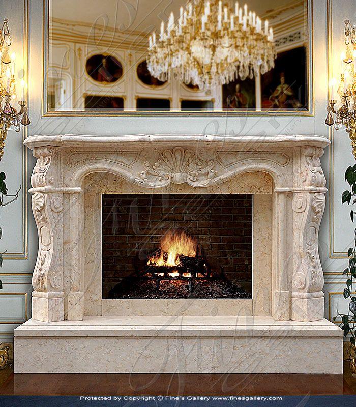 Luxurious Fireplaces   Google Search · Fireplace Mantel SurroundsFireplace  ...