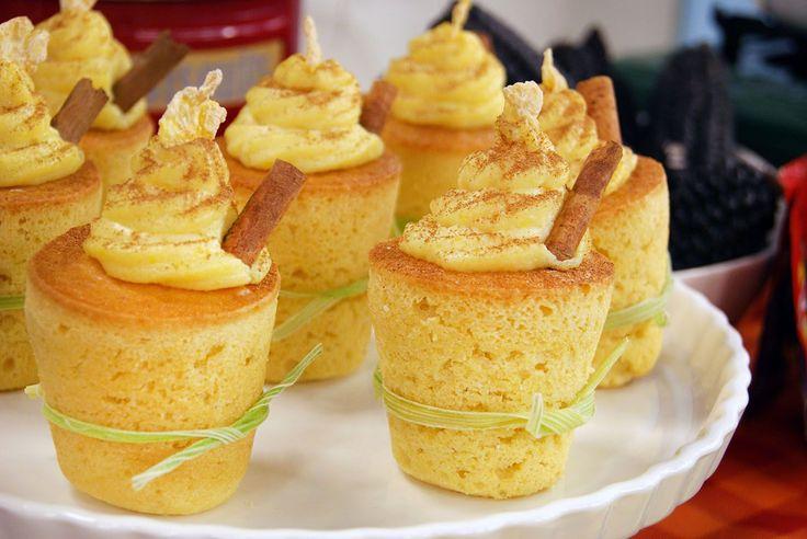 Aprenda a fazer a receita de Cupcake de Milho Verde