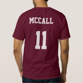 Camiseta de McCall 11