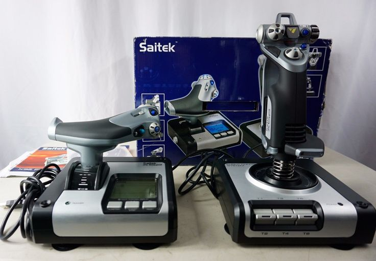 Saitek X52 FLiGHT CONTROL SYSTEM, HOTAS Joystick/Throttle MFC/LCD simulator PC: $100.00 End Date: Tuesday Jan-9-2018 12:09:28 PST Buy It…