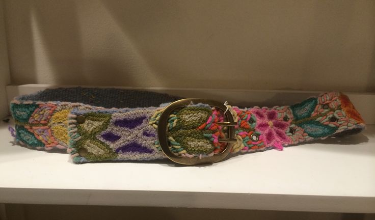Embroidery belts