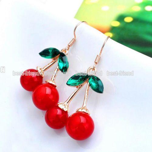 Fashion-Women-Pearl-Crystal-Rhinestone-Silver-Plated-Ear-Stud-Earrings-Jewellery