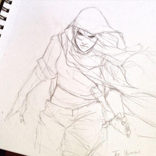 Character Sketch / Drawing