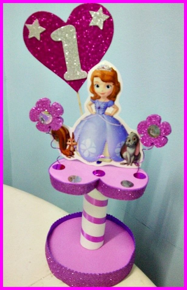 Princesa sofia decoracion centros de mesa buscar con - Centros de decoracion ...