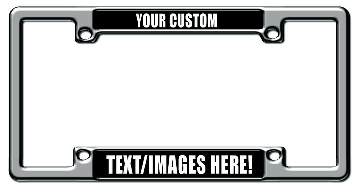 Custom License Plate Frames Can Give Your Car Personality. Fundraising and Bulk Orders