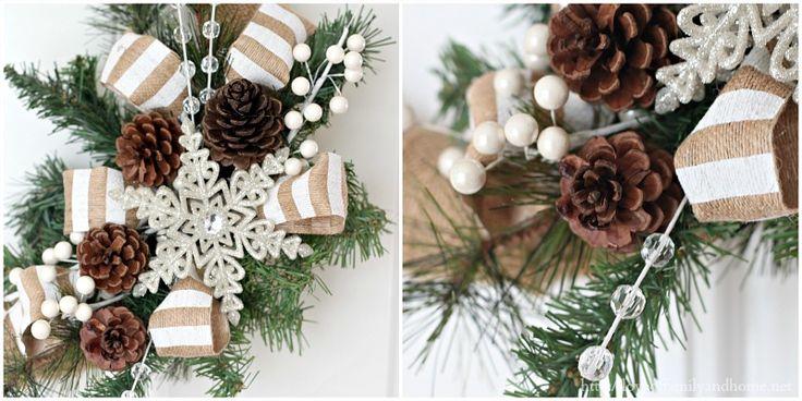 Burlap Christmas Wreath {Tutorial}
