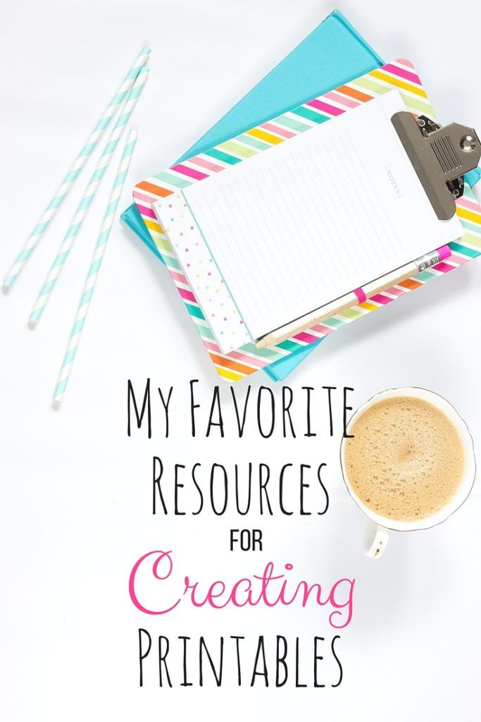 Lauren's Little Corner: My Favorite Resources For Creating Printables. I share some tips on what I like to use to create my printables! This post will give you some insight on what products and websites to use.
